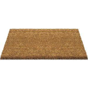 Deurmat Kokos - Beige - 40 x 60 cm - kokosmat - deurmat buiten - deurmat binnen