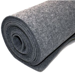Vilt bekleed tapijt